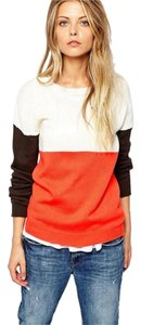 ASOS Knit Color-blocking Fall Sweater