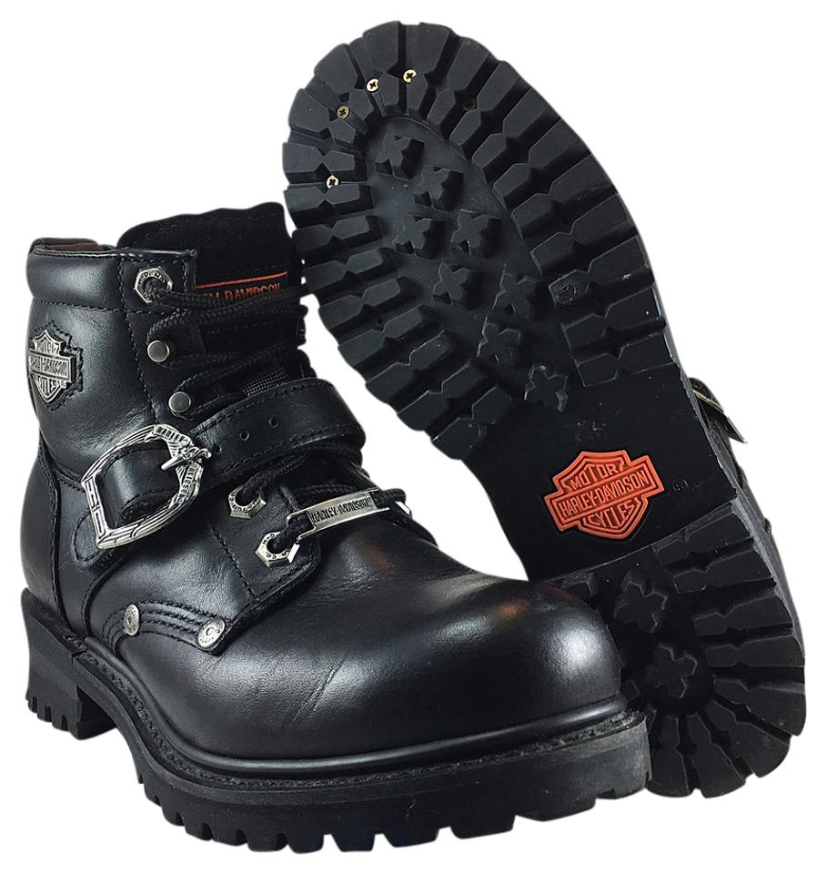 Harley Davidson Black #81024 Faded Glory Boots/Booties Size US 6.5