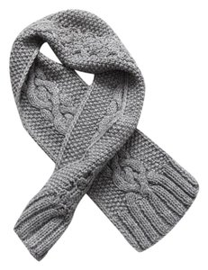 Mango Cable Knit Scarf