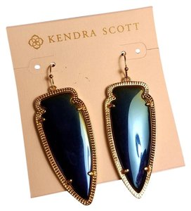 Kendra Scott Skylar W. Iridescent Black Earring