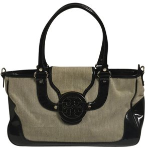 Tory Burch Satchel in Black/gray