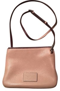 Marc Jacobs Leather Hardware Cross Body Bag