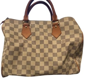 Louis Vuitton Tote in White and grey