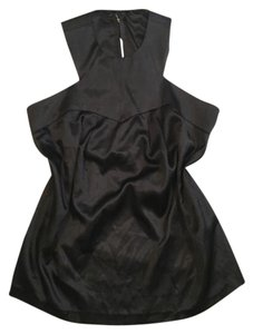 Romeo & Juliet Couture Halter Top Black