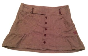 DC Shoes Skirt Brown