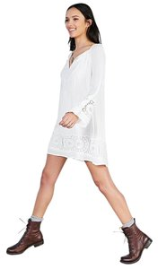 Urban Outfitters short dress WHITE Frock Nell Sleeve on Tradesy