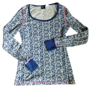 BDG T Shirt Blue and white