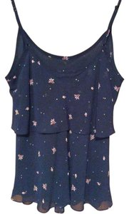 CAbi Tiered Non-smoking Home Top Navy