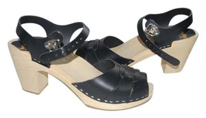 swedish hasbeens Wood Clogs Sandals