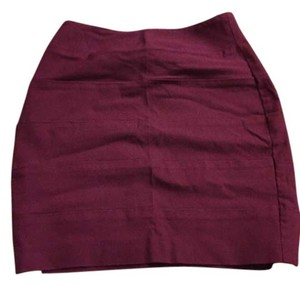 A. Byer Mini Skirt Magenta