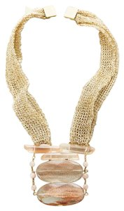 Anthropologie Luma Mesh Necklace
