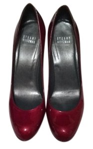 Stuart Weitzman Pump Patent Leather Red Pumps