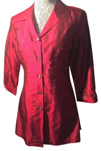 Karen Kane Top DEEP RED