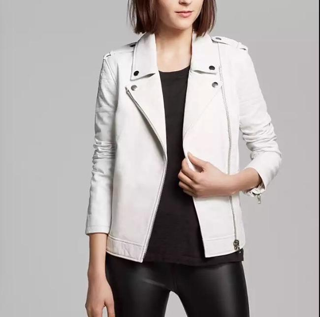 BB Dakota White Jacket
