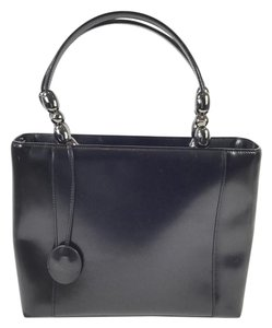 Dior Lady Handle Shoulder Tote in Black