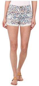 JOE'S Jeans Collectors Edition High Rise Rolled Mosaic Shorts Multi