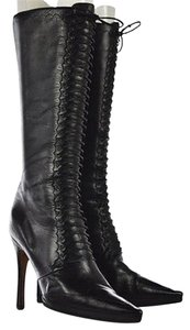 Jimmy Choo Womens Black Boots