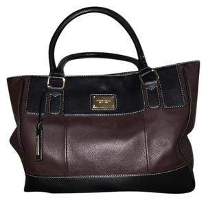Tignanello Tote in black and brown