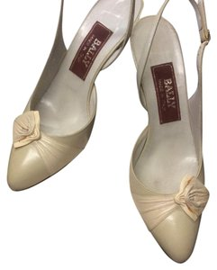 Bally Pale Grey Pumps