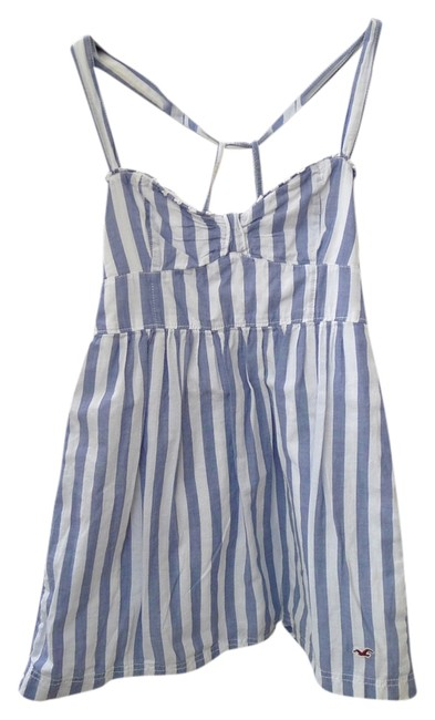 Preload https://item3.tradesy.com/images/hollister-light-blue-white-striped-tunic-size-2-xs-2029877-0-0.jpg?width=400&height=650