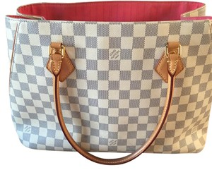 Louis Vuitton Satchel in Damier Azul
