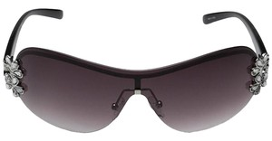 Guess NEW Guess Silver/Smoke Radiant Sunglasses
