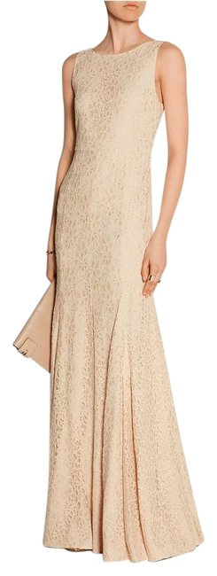 Item - Pink Evangelina Heave Lace Gown Maxi Long Cocktail Dress Size 4 (S)