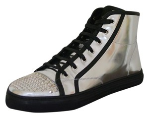 Gucci Sneakers Black / Silver Athletic