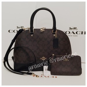 Coach Set Gift Set Matching Set Gift Box Monogram Cross Body Bag