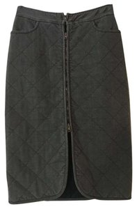 Stella McCartney Quilted Skirt gray