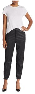 AG Adriano Goldschmied Track Jogger Coated Grey Relaxed Fit Jeans-Coated
