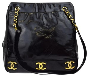 Chanel Cc Logo Tote Flap Chain Quilted Flap Shoulder Bag
