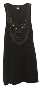 Nanette Lepore Beaded Embellished Sleeveless Dress