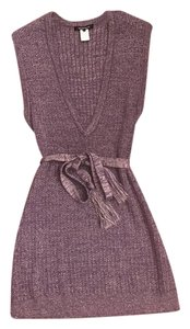 Nanette Lepore short dress Purple/Lilac Sweater on Tradesy