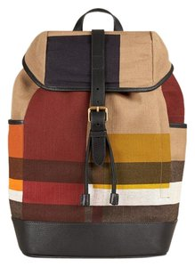 Burberry Canvas/leather Backpack