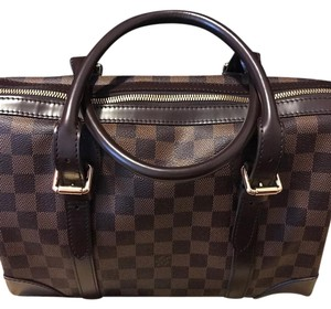 Louis Vuitton Berkeley Satchel in Damier