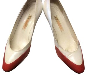 Gucci Red & white Pumps
