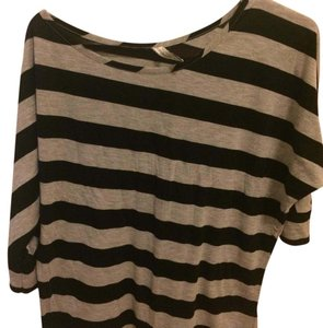 fishbone Top black and grey