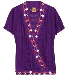 Tory Burch Top Purple/Multi
