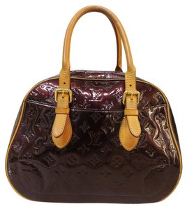 Louis Vuitton Lv Vernis Summit Drive Tote in burgundy