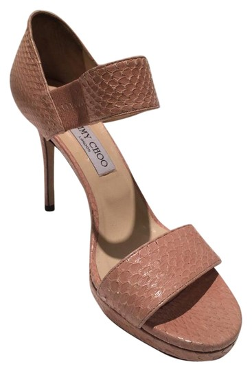 Preload https://img-static.tradesy.com/item/20299405/jimmy-choo-blush-python-leather-sandals-pumps-size-us-10-0-2-540-540.jpg