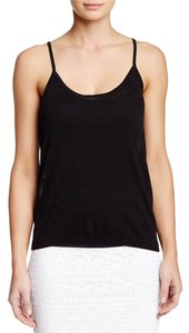 Trina Turk Racer-back T Shirt Black