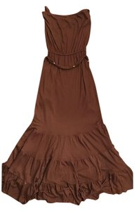 Brown Maxi Dress by Diane von Furstenberg Maxi Bohemian Summery Belted Chocolate