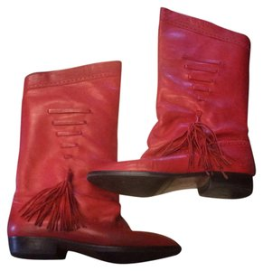 Neiman Marcus Red Boots