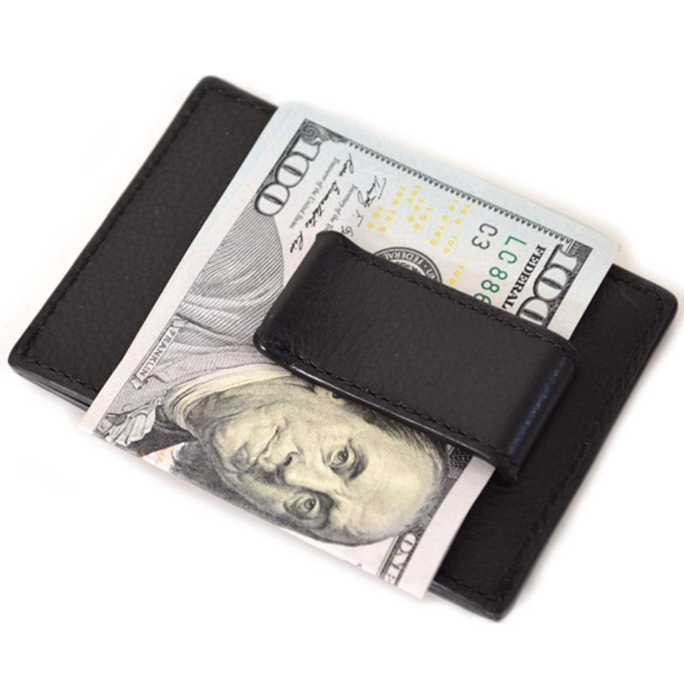 Coach black new mens leather business card case holder money clip coach black new mens leather business card case holder money clip wallet colourmoves Image collections