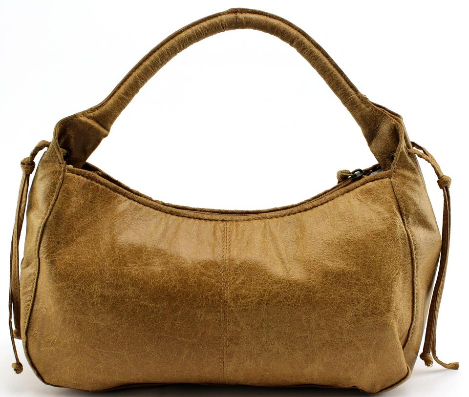 fea12917f8 Bueno Collection Brown Vintage Shoulder Leather Woven Hobo .
