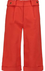 self-portrait Trouser Pants Red