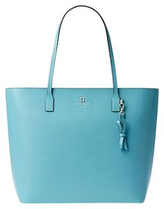 Kate Spade Leather New With Tags Tote in Blue