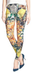 Hudson Jeans Mid Rise Nico Animal Multicolor Skinny Jeans