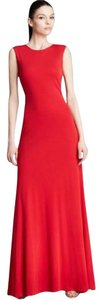Vera Wang Backless Gown Holiday Formal Gown Dress